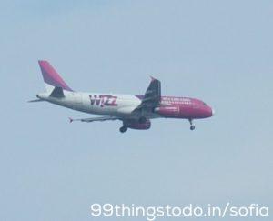Wizzair Flugzeug