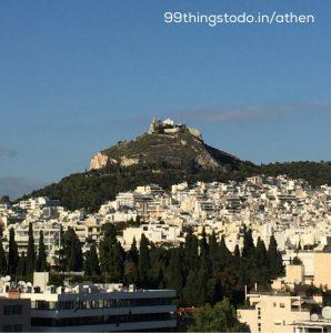 Mount lykabettus