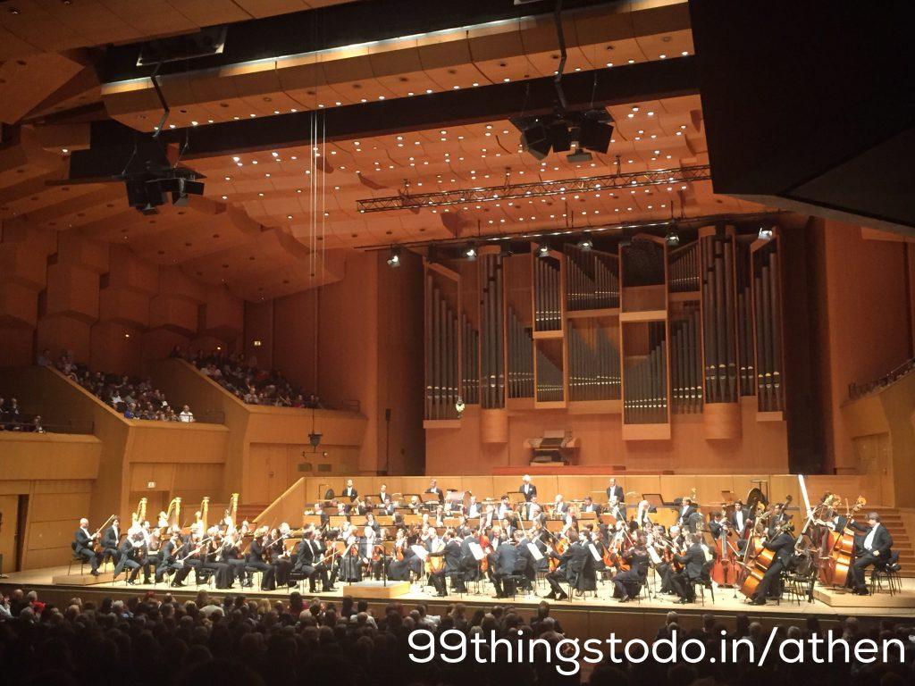 Megaron Konzerthalle Athen