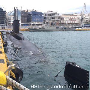 submarine in Piraeus