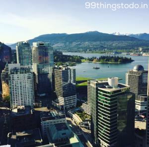 Vancouver Ausblick vom Vancouver lookout